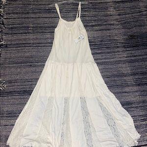 Jessica Simpson Baylee Maxi Dress Cream Size M